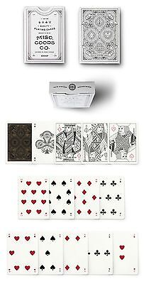 New Pearl Ivory Misc. Goods Co. Playing Cards Deck Printed By USPCC 3rd Edition