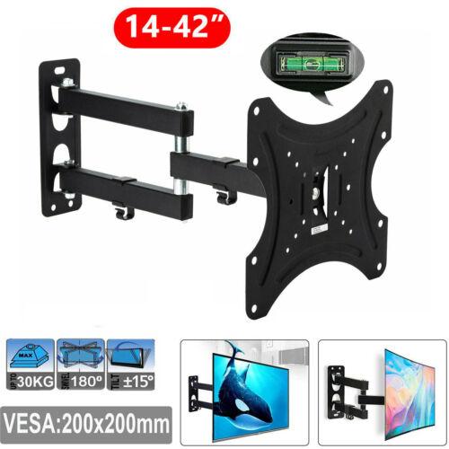 "LCD Plasma TV Wandhalterung neigbar schwenkbar kippbar LED 3D 14-42/"" Zoll DHL"