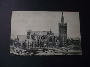 Postcard-of-St-Patrick-039-s-Cathedral-Dublin-c1917-AH6655