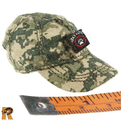 Fire Girl Figures Tactical Female Shooter #1-1//6 Scale Ball Cap Hat Camo