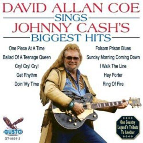 David Allan Coe - Sings Johnny Cash's Biggest Hits [New CD]