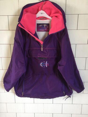 Vintage 102 Bright Style Overhead Windbreaker 90's Retro Coat Jacket Ski Bold RAwrTRxnvq