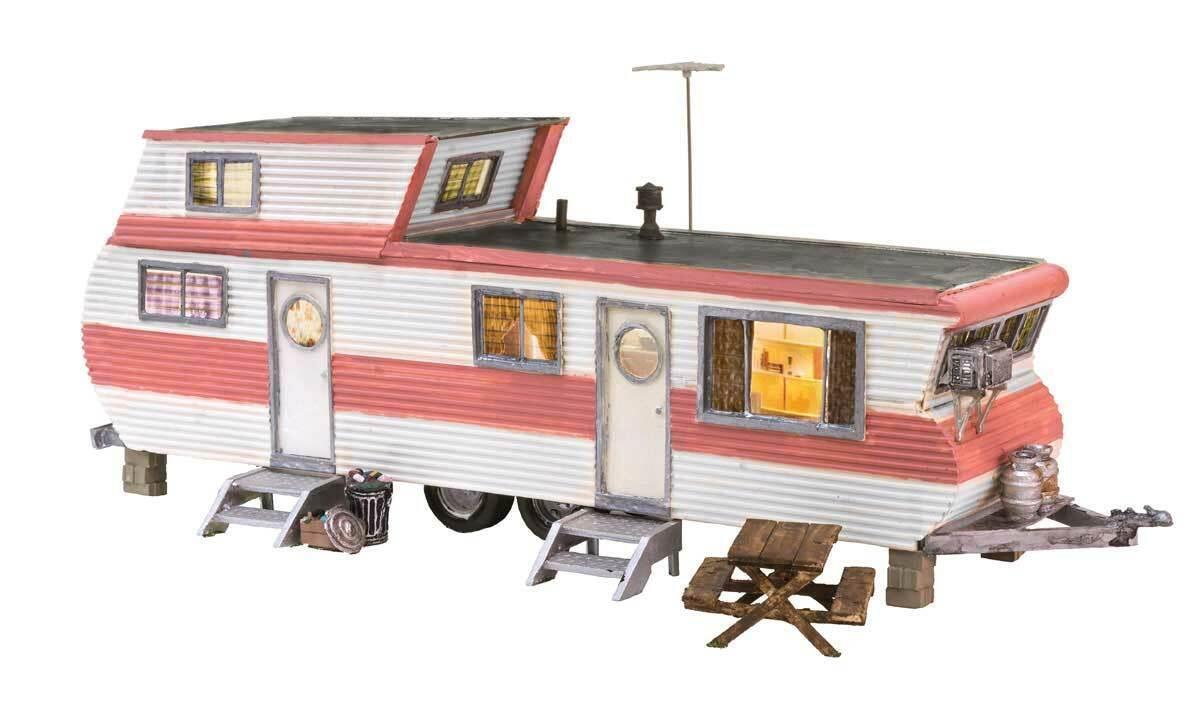 Spur HO -- trailer con illuminazione -- 5061 NUOVO