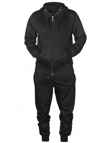 S-2XL 16sixty Men/'s Black Plain Jogging Suit  or Track suit 1660