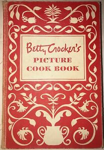 1950-BETTY-CROCKER-PICTURE-COOK-BOOK-1ST-EDITION-2ND-PRINTING-ILLUSTRATED-RARE
