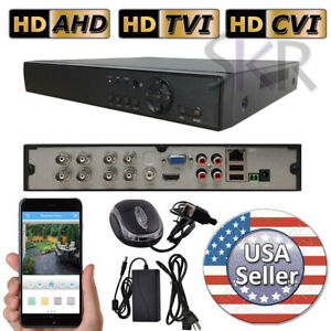 Sikker-Standalone-8-Ch-Channel-DVR-Security-Camera-Recorder-1080P-HDMI-720P-960H