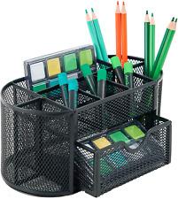 Mesh Desk Organizer Caddy Pen And Pencil Holder For Desk Office Supplies Desk