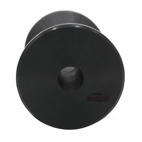 4 Inch Width Boat Trailer Black Polyurethane Spool Roller 5//8 Inch Hole