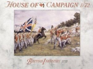 A Call To Arms British Infantry 1775 House Of Campaign Plastic Soldier Kit 1:72