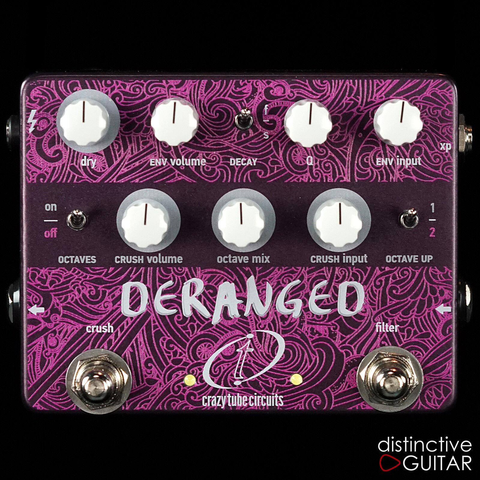 Nuevo Crazy Tube Circuits Derange Envolvente Filtro Pedal de Efectos Guitarra