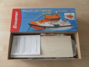 RARITAT-Selten-Graupner-Multi-Jet-Boat-Nr-2155-ERSTE-VERSION-OVP-NEU