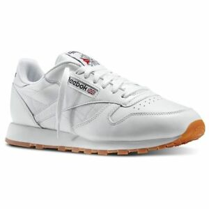 3d527f6e8ee Image is loading REEBOK-CLASSIC-LEATHER-White-Gum-49797-MENS-CLASSIC-