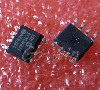 5PCS PIC12F629-I/SN PIC12F629 MICROCHIP 8SOIC  MCU CMOS 8BIT 1K FLASH