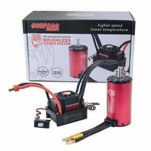 For-1-8-EREVO-E-Revo-E-Maxx-UDR-6S-150A-Waterproof-ESC-w-Brushless-2000KV-Motor