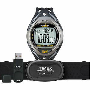 Timex-Ironman-Race-Trainer-Elite-Kit-Heart-Rate-Monitor-Watch-with-USB-5K446