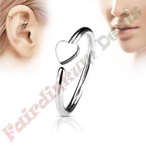 316L-Surgical-Steel-Silver-Ion-Plated-Nose-amp-Ear-Cartilage-Ring-with-Heart