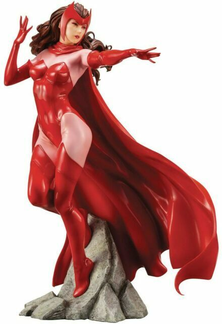 MARVEL UNIVERSE SCARLET WITCH 1//10 FIGURE //STATUE IN STOCK KOTOBUKIYA //ART FX