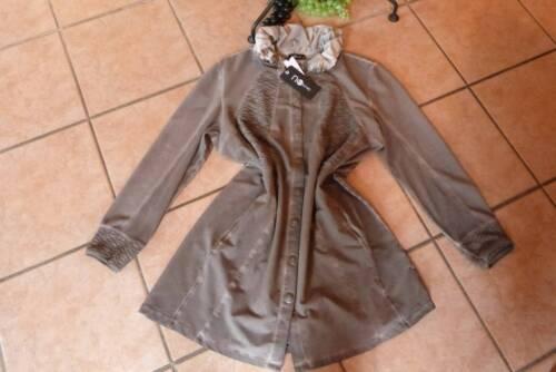 fango Gr Secret invecchiato dall'aspetto 46 strati Sweat a Novità Bottoni sguardo di Jacket No Uqgw86ptFt