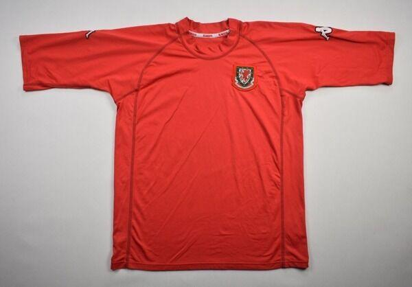 Kappa 2000-02 WALES SHIRT XL Shirt Jersey Kit