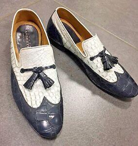 Responsable Silvano Sassetti Scarpe N 40 41 Pelle Bicolore Listino 380,00 - Made In Italy
