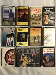 Vintage Music Cassette Tape Bundle Joblot The Seahorses Kool & And The Gang