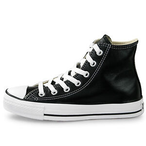 Converse Unisex Chuck Taylor All Star HI Leather Shoes NEW ...