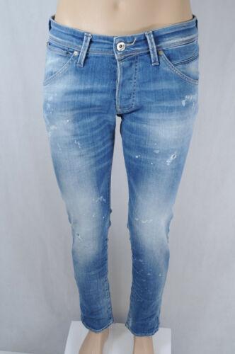Jack /& Jones Jeans GLENN FOX BL 906 Blau ripped denim used design 2020
