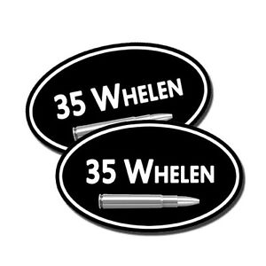 Details about 35 Whelen Ammo Can Labels Decals Stickers 2 PACK 5x3inch Oval  Rifle Gun Vinyl