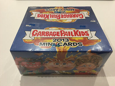 2004 UK Garbage Pail Kids NEW Series Cards FULL Box with 36 Packs