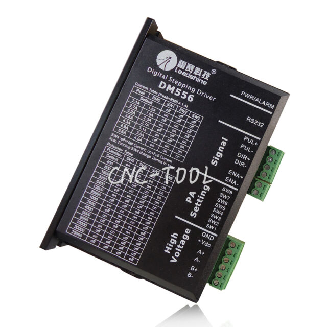 1PC Leadshine DM556 2-Phase Digital Stepper Driver 20-50VDC 0.5-5.6A NEW
