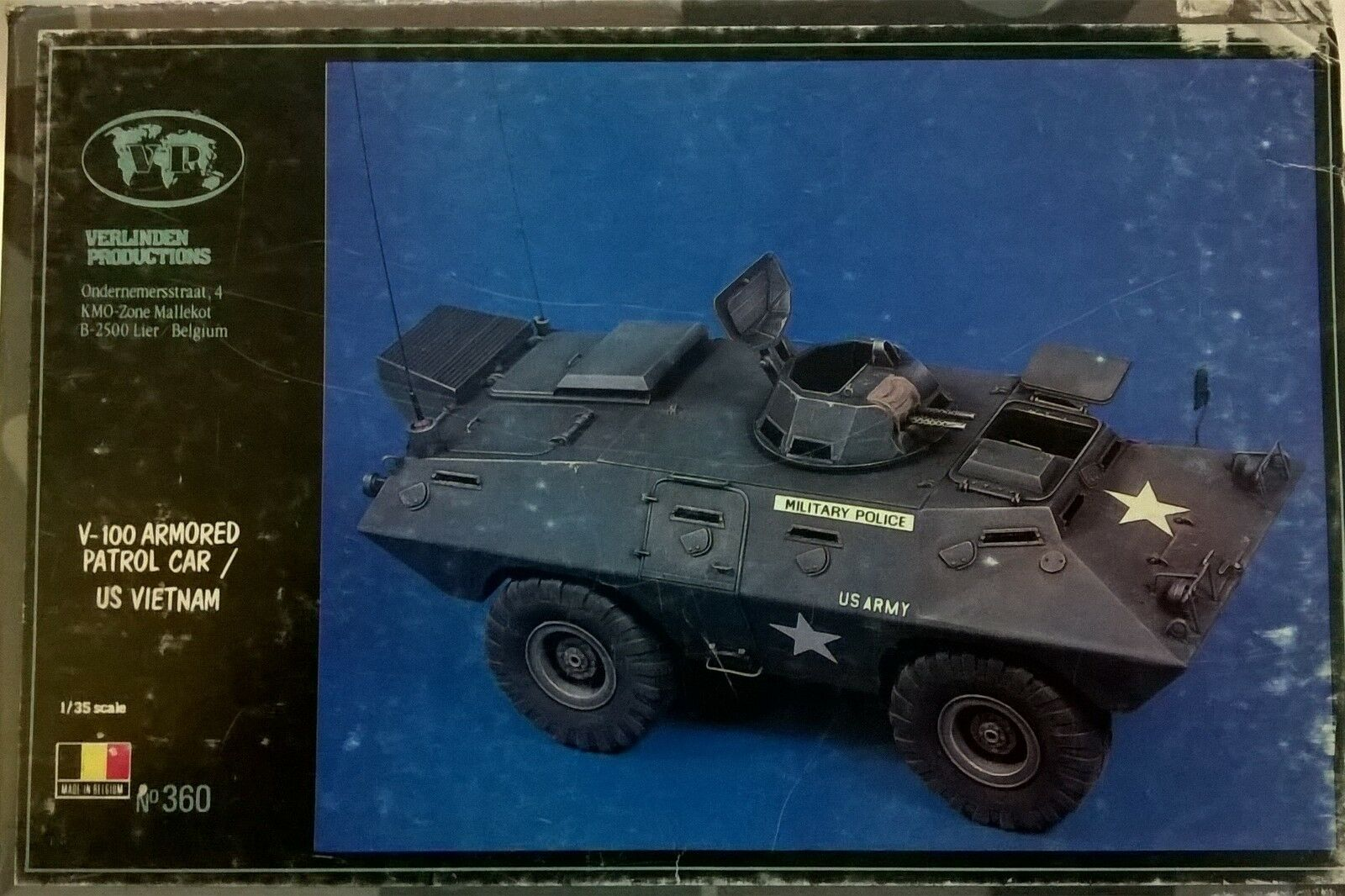 Verlinden 1 35 v-100 Armored Patrol Car US Vietnam Art 360 Discontinued