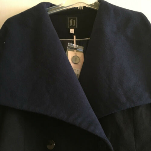 Jacket Den Modern Nwt Garde L 229 Coat Caplet Look Avant Limited Blue Størrelse qwxwUCrt