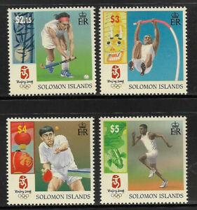 E319] SOLOMON ISLANDS SG1246-1249 2008 Olympics complete set 4v unmounted mint