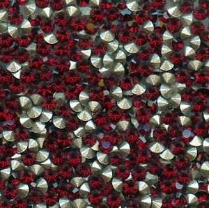 1028 PP14 S *** 50 STRASS SWAROVSKI fond conique 2,05mm SIAM   F