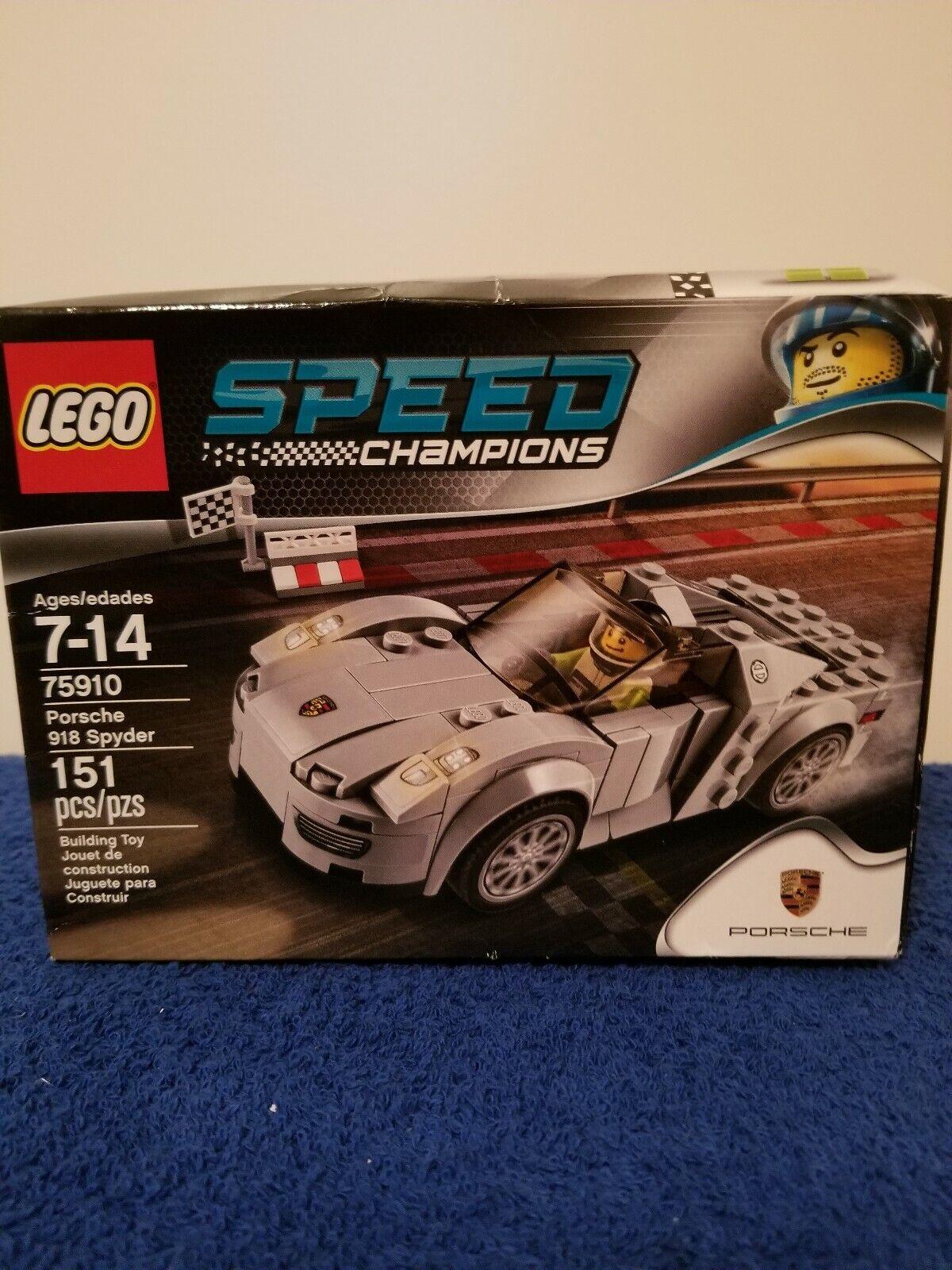 merce di alta qualità e servizio conveniente e onesto LEGO PORSCHE 75910 SPYDER 918 FACTORY SEALED     prendiamo i clienti come nostro dio