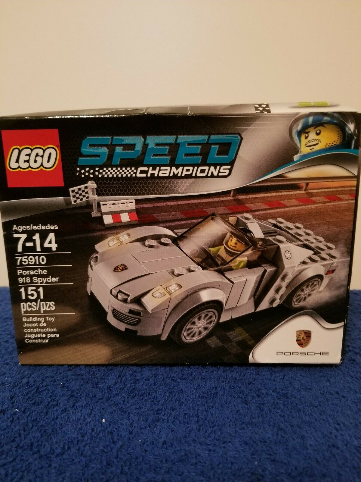 LEGO PORSCHE 75910 SPYDER 918 918 918 FACTORY SEALED  bf5067