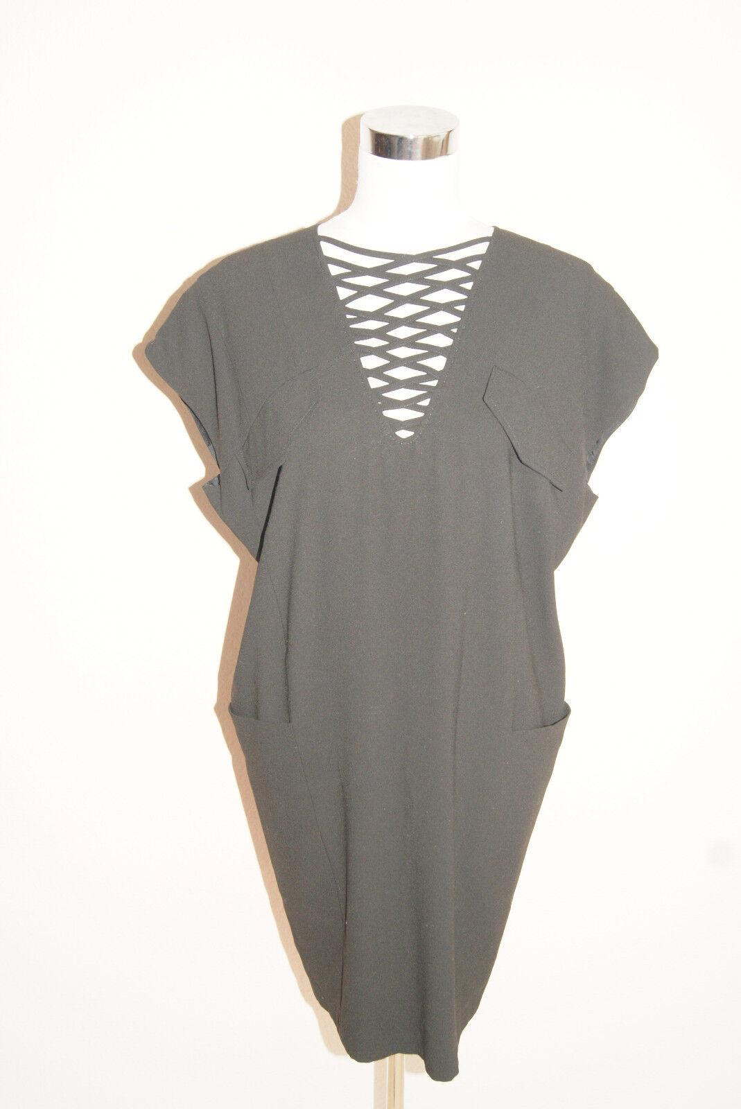 SET Kleid Gr. 36 S OUISET Oui Businesskleid schwarz Abendkleid NEU