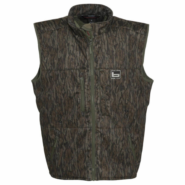 cad77df96bf6d BANDED Atchafalaya Hunting Vest Wind Proof Fleece Lined Bottomland Camo  Large