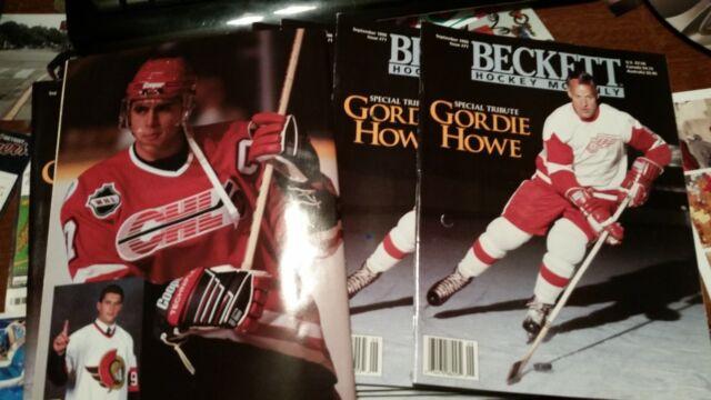 044cdb2c4 12 copies 1996 Sept  71 Beckett Hockey- Gordie Howe