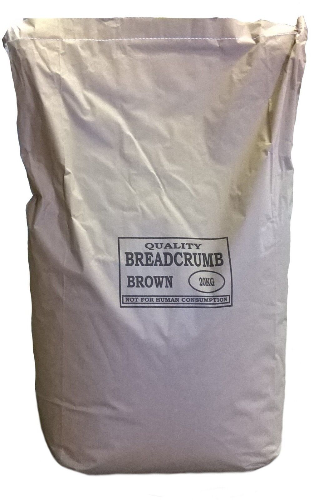FISHING BAIT - BROWN BREAD CRUMB GROUNDBAIT FOR COARSE AND CARP 20KG BAG