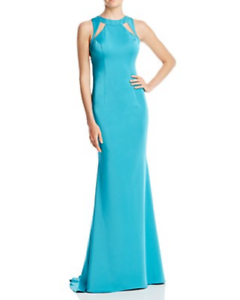 Jovani Fashions Illusion Mermaid Gown MSRP  Größe 10 D 289 10 NEW
