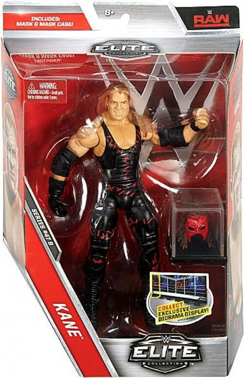 WWE Wrestling Elite Series 47.5 Kane Action Figure [Mask & Case]