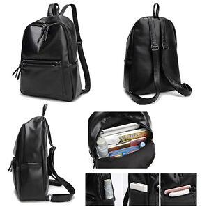 Women-039-s-New-Backpack-Travel-PU-Leather-Handbag-Rucksack-Shoulder-School-Bag