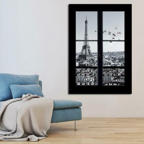 3D Paris Landschaft Wandaufkleber Kunst Wohnzimmer Decal Home Abnehmbare N5 U2B0
