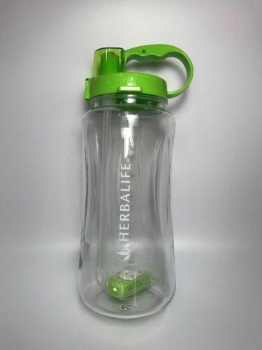 Herbalife Water Bottle Shake Cup Outdoor Sports Drink Straw Lid Plastic 1000ml