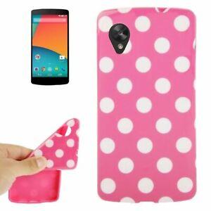 Housse de Protection TPU Silicone Étui pour Téléphone Portable Lg Google Nexus 5