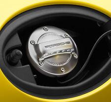 PORSCHE look alluminio tappo del serbatoio del combustibile 991 Boxster Cayman Cayenne Macan Panamera
