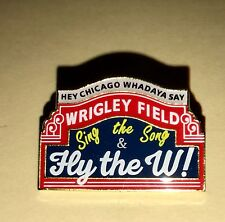 CHICAGO CUBS Sing the Song & Fly the W,  Hey Chicago Whadaya Say, Wrigley -  NEW