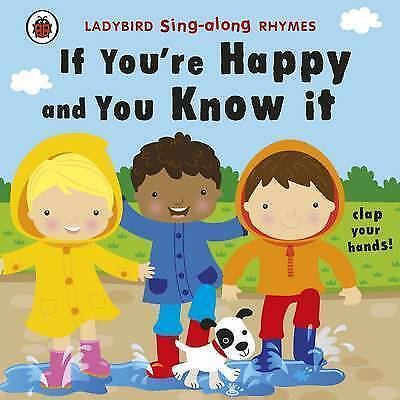 1 of 1 - Ladybird Sing Along Rhymes If Your Happy and You Know It-ExLibrary
