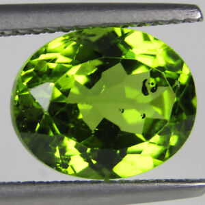 4-62CTS-EXCELLENT-NATURAL-GREEN-PERIDOT-OVAL-SHAPE-VIDEO-IN-DESCRIPTION